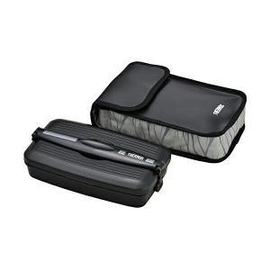 弁当箱 フレッシュランチボックス 800ml ブラックグレー (BKGY) DJB-805 ulmax