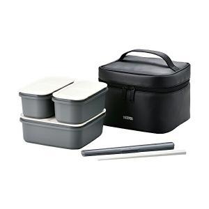弁当箱 フレッシュランチボックス 1800ml DJF-1800 ブラック (BK) ulmax