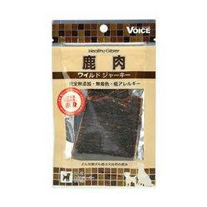 ヴォイス ( Voice ) 犬用おやつ 鹿肉ワイルドジャーキー 赤身 15g ドッグフード ドックフート 犬 イヌ いぬ ドッグ ドック dog 商品は1点の価格になります|ulmax
