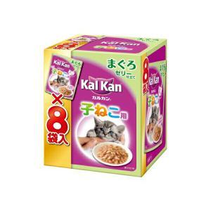 KMP71カルカンP子猫用まぐろ70g×8 ≪おまとめセット【6個】≫