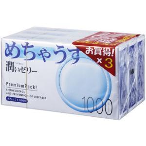 めちゃうす1000 12個入り×3箱(コンドーム)<b...