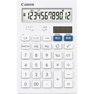 キヤノン 12桁 卓上サイズ 電卓 HS-121T 抗菌 キレイ電卓 CANON ulmax