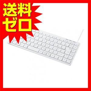 サンワサプライ USBスリムキーボード☆SKB-SL27W★【送料無料】  1302SAZC^