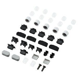 サンワサプライ AVジャックキャップ (フルセット) TK-CAPSET1 コネクタカバー 12種類のキャップのセット自作用 PCパーツ DOS / Vパーツ 送料無料|ulmax