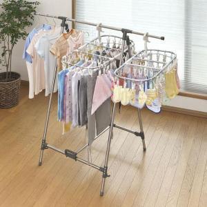 セキスイ ステンレスものほしスタンド DV-100 (部屋干し専用)室内 洗濯物干し 伸縮式|ulmax