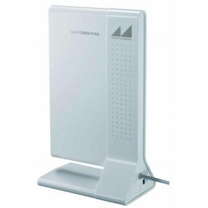 日本アンテナ ブースター付室内アンテナ ARBL1(W)TV ブースター内蔵 地上デジタル放送対応 ulmax
