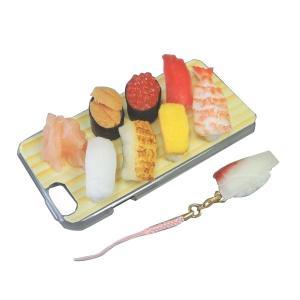 日本職人が作る  食品サンプル iPhone6ケース ミニチュア寿司 IP-605|ulmax