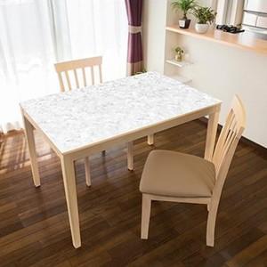 TABLECLOTH DECORATION テーブルデコレーション 貼る!テーブルシート 90cm×150cm 大理石 GY・グレー簡単 DIY 模様替え|ulmax