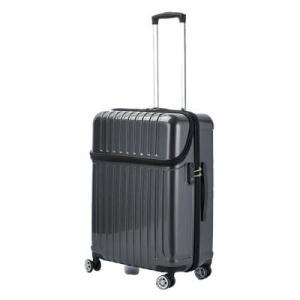 協和 ACTUS(アクタス) スーツケース トップオープン トップス Mサイズ ACT-004 ブラックカーボン・74-20321キャリーバッグ 取り出しやすい おしゃれ ulmax
