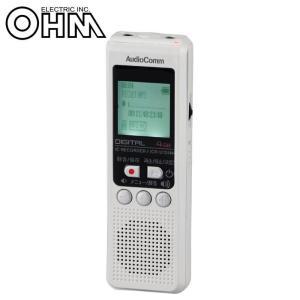 OHM AudioComm デジタルICレコーダー 4GB ICR-U124N|ulmax