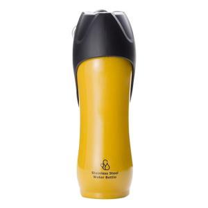 ROOP ペット用水筒 ステンレスボトル Lサイズ 750ml散歩 屋内 水飲みボウル