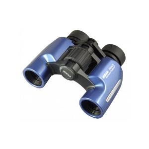 MIZAR(ミザールテック) 双眼鏡 8倍 23mm口径 ポロプリズム式 スタンダード Alcor8 メタリックブルー|ulmax