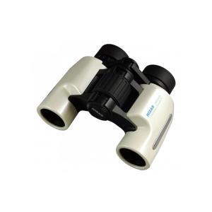MIZAR(ミザールテック) 双眼鏡 6倍 24mm口径 ポロプリズム式 スタンダード Alcor6 パールホワイト|ulmax
