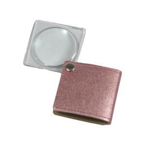 MIZAR(ミザールテック) 3.0倍 折りたたみ 携帯用ポケットルーペ RK-30PPK ピンク|ulmax