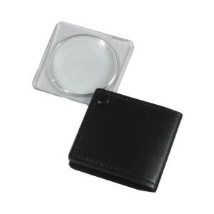 MIZAR(ミザールテック) 3.0倍 折りたたみ 携帯用ポケットルーペ RK-30PBK ブラック|ulmax
