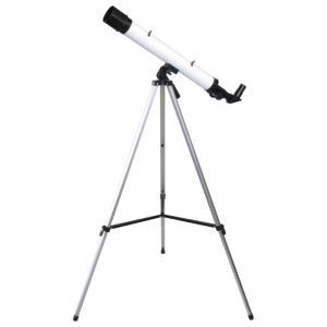 MIZAR(ミザールテック) 屈折式天体望遠鏡 30〜75倍 45mm口径 経緯台 白 TS-456|ulmax