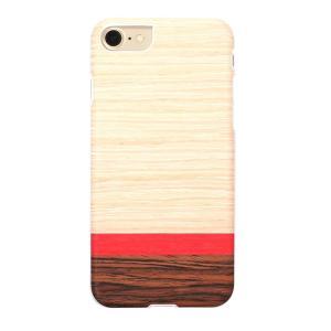 Man&Wood iPhone8/7 天然木ケース Rosewash ホワイトフレーム ulmax