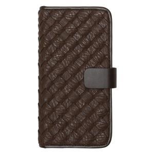 Zenus iPhone8/7 Mesh Diary ダークブラウン|ulmax
