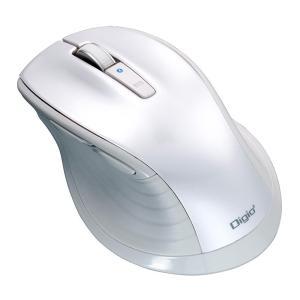 ナカバヤシ 大型 Bluetooth 静音5ボタンBlueLEDマウス ホワイト MUS-BKF149W|ulmax