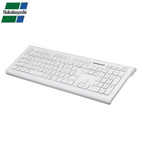 ナカバヤシ Digio2 無線静音キーボード ホワイト FKB-R245W|ulmax