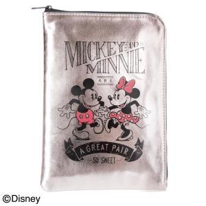 Disney ディズニー スリムメタリックタイプ マルチケース(ミッキー&ミニー) DSM-1981Kポーチ ミニバッグ 母子手帳入れ|ulmax