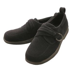 Laporter(ラポーター) M501 介護シューズ 男性用 ブラック面テープ 靴 フィット|ulmax