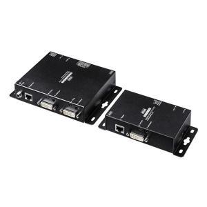 サンワサプライ PoE対応DVIエクステンダー(セットモデル) VGA-EXDVPOE|ulmax