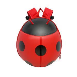 キッズ てんとう虫型 バックパック SC-3857リュック 鞄 かわいい|ulmax