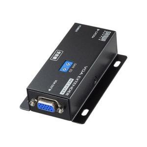サンワサプライ ディスプレイエクステンダー(受信機) VGA-EXRN|ulmax