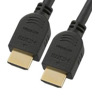 OHM HDMIケーブル 4Kプレミアム 1m VIS-C10PR-K接続 高画質 コード|ulmax