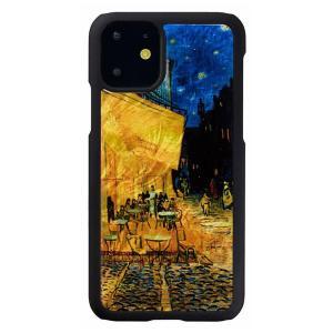 ikins(アイキンス) iPhone 11 天然貝ケース 夜のカフェテラス I16878i61R|ulmax