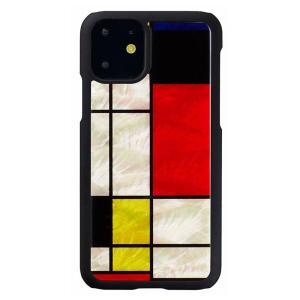 ikins(アイキンス) iPhone 11 天然貝ケース Mondrian I16881i61R|ulmax