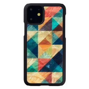 ikins(アイキンス) iPhone 11 天然貝ケース Mosaic  I16884i61R|ulmax