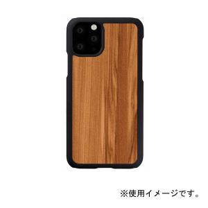 Man & Wood(マンアンドウッド) iPhone 11 Pro Max 天然木ケース Cappuccino I16852i65R|ulmax