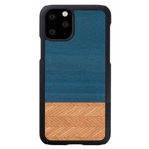 Man & Wood(マンアンドウッド) iPhone 11 Pro Max 天然木ケース Denim  I16855i65R|ulmax