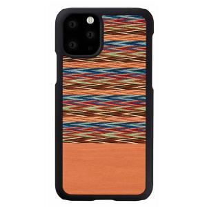 Man & Wood(マンアンドウッド) iPhone 11 Pro Max 天然木ケース Browny Check  I16856i65R|ulmax