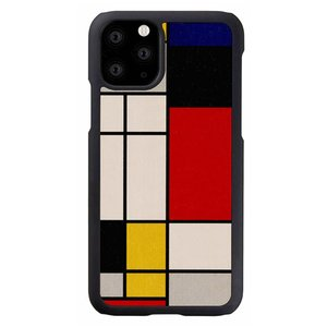 Man & Wood(マンアンドウッド) iPhone 11 Pro Max 天然木ケース Mondrian Wood  I16857i65R|ulmax