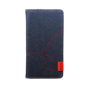 ZENUS(ゼヌス) iPhone 11 スライド式手帳型ケース Denim Stitch Diary  Z18331i61R ulmax
