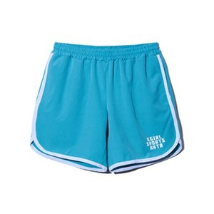 AKTR レディーズ ウェア ショーツ バスパン  アクター X-girl Sports x AKTR SHORTS '17 BLGR|ult-collection