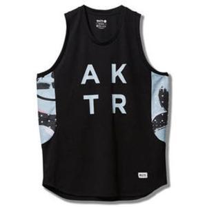 AKTR ウェア ノースリーブ タンクトップ  アクター ABSTRACT TANK|ult-collection