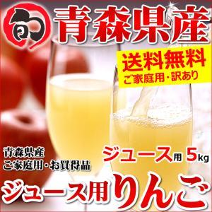 青森県産 サンふじ ご家庭用 5kg ジュース用 訳あり り...