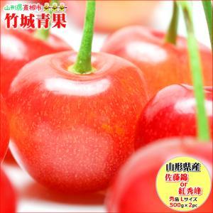 【出荷開始】 さくらんぼ 佐藤錦 秀品 1kg Lサイズ 山...