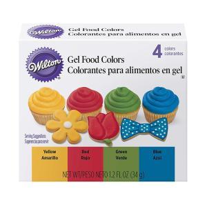 WILTON (ウィルトン)プライマリージェルカラーセット 色素 着色 デコレーション アイシング