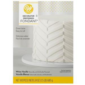WILTON(ウィルトン)ロールフォンダン ホワイト 24oz(680g)/シュガークラフト/ケーキ カバーリング