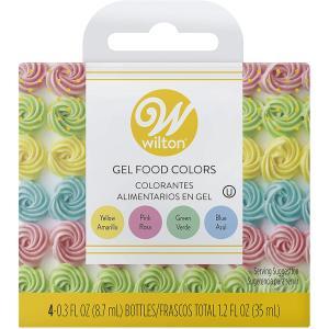 WILTON (ウィルトン)アイシング パステルジェルカラーセット/アイシング クッキー 色素 着色 デコレーション ケーキ