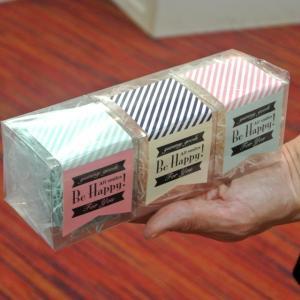 アソートBOX キューブクリア(トリュフ・クッキー用)(バレンタインラッピング)(包むファクトリー) アソートボックスの画像