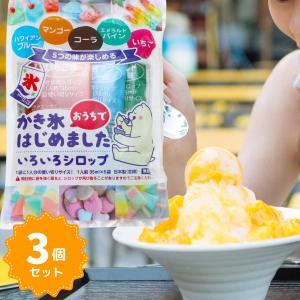 5つの味が楽しめるかき氷シロップ 使いきりセット 15袋(5種5袋×3)セット かき氷 氷みつ かきごおり 氷 シロップ