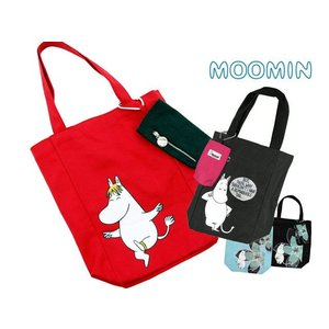 ムーミン トートバッグ フローレン&ムーミン(携帯ケース付き)