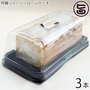 阿蘇ジャジーロールケーキ 3本 熊本 九州 阿蘇 濃厚 ケーキ 人気 復興支援  条件付き送料無料|umaimon-hunter
