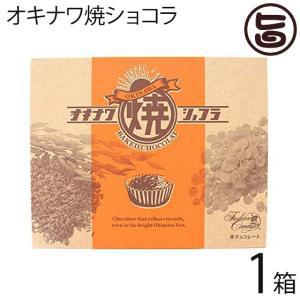 オキナワ焼ショコラ 10個入×1箱 ファッションキャンディ 沖縄の眩しい太陽にも溶けないチョコレート  送料無料|umaimon-hunter